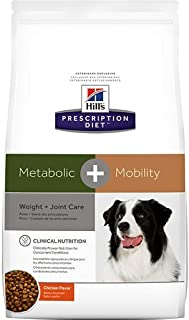 Hill's Prescription Diet Metabolic + Mobility Weight and Joint Care Chicken Flavor Dry Dog Food 24 lb