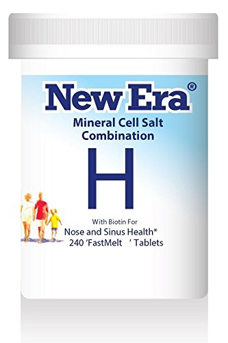 New Era Mineral Cell Salt Combination H for Hayfever and Allergic Rhinitis 240 Tablet