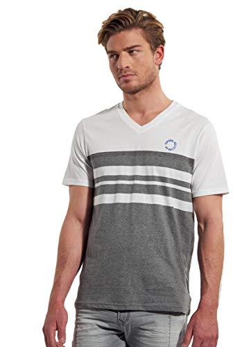 KAPORAL Macey T-Shirt, Bianco (White White), Small Uomo