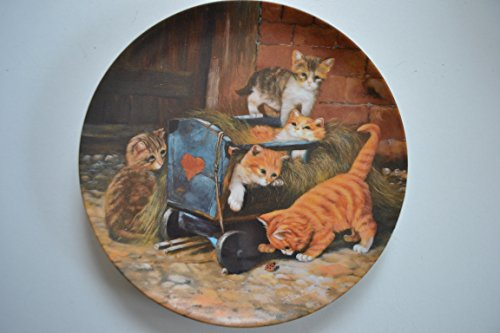 Die Spielkameraden , Katzen-Sammlerteller , aus Abenteuer auf Samtpfoten