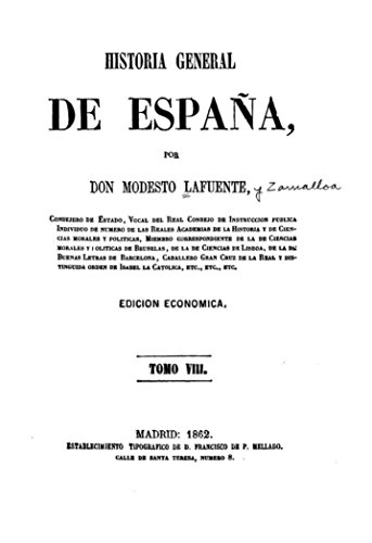 Historia general de España eBook: Lafuente, Modesto: Amazon.es: Tienda Kindle