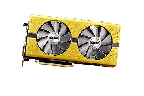 SAPPHIRE 11289-07-20G - Tarjeta gráfica (Radeon RX 590, 8 GB, GDDR5, 256 bit, 5120 x 2880 Pixeles, PCI Express x16 3.0)