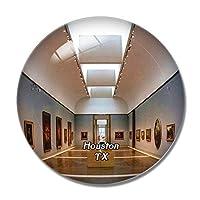 テキサス州ヒューストン博物館米国冷蔵庫マグネットホワイトボードマグネットオフィスキッチンデコレーション