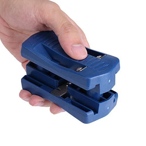 Diyeeni Kantenschneider, Edge Trimmer Edge Banding Cutter für Furnier, PVC, Plasti und andere Umleimer, Materialstärke bis 40 mm