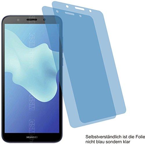 4ProTec I 2X ANTIREFLEX matt Schutzfolie für Huawei Y5 2018 Bildschirmschutzfolie Displayschutzfolie Schutzhülle Bildschirmschutz Bildschirmfolie Folie