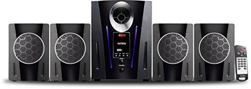 Intex IT-2650 Digi Plus FMUB 4.1 Multimedia Speaker with Bluetooth/USB/FM/AUX