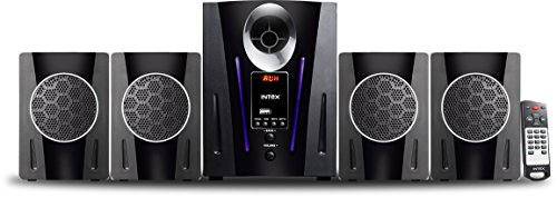 Intex IT-2650 Digi Plus FMUB 4.1 Multimedia Speaker with Bluetooth/USB/FM/AUX