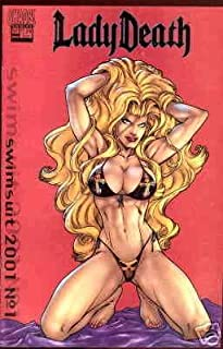 Lady Death Swimsuit Special #2001B VF/NM ; Chaos comic book