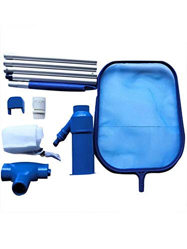 lingzhuo-shop Pool Maintenance Kit - Poolzubehör - Pool Reinigungsset , Pool Kescher Kit Wartungswerkzeug Saugkopf Werkzeugzubehör