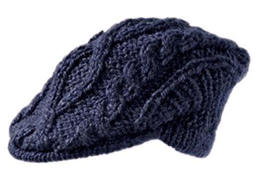 Seeberger Schiebermütze Mütze Strickhut Wollmütze Strickmütze Kappe Damenmütze