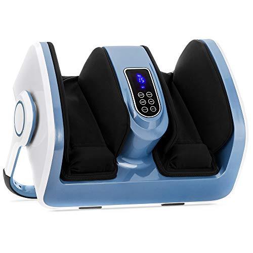 Best Choice Products Air Compression Reflexology Shiatsu Calf Foot Therapeutic Massager w/Heat,...