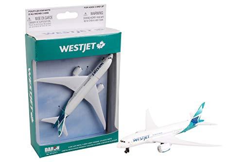 Daron Worldwide Trading RT7374 avion Westjet unique