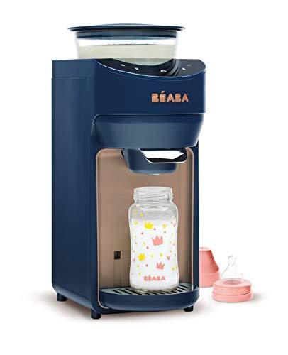 Béaba - Milkéo Night Bleu preparador de biberones para bebés, 912795