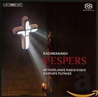 ラフマニノフ : 晩祷 Op.37 | 神の母 (Rachmaninov : Vespers / Netherlands Radio Choir , Kaspars Putnins) [Hybrid SACD] [輸入盤]