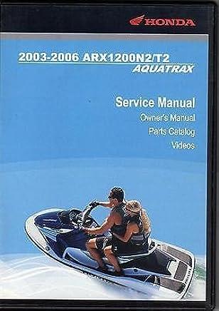 Amazon com: 2005 Honda Aquatrax Owners Manual: Books