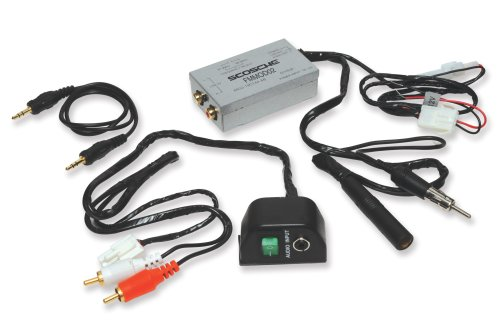 Scosche FM-MOD02 Universal Audio Input FM Modulator for iPod, Satellite Radio or Portable Music Player