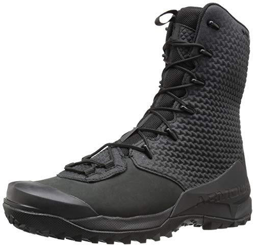 Under Armour Men's Infil Ops Gore-TEX Ankle Boot, Black (001)/Black, 10