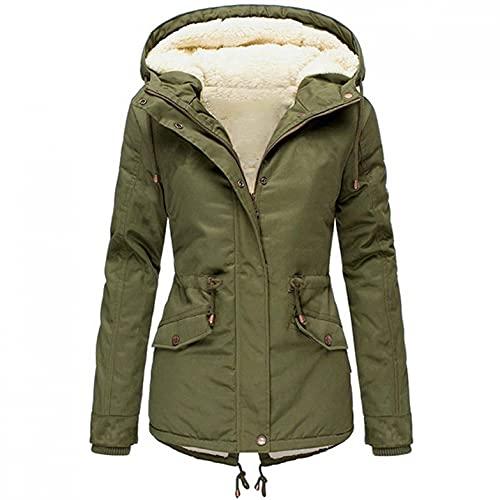 Damen Jacket Softshelljacke Damen Wasserfeste Softshellmantel Trainingsjacke Sportjacke Parka Coat Warme Gefüttert Windproof Wintermantel Plus Size Winterjacke