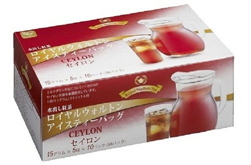 ロイヤルウォルトン 水出し紅茶アイスティーバッグ セイロン 15g×50P