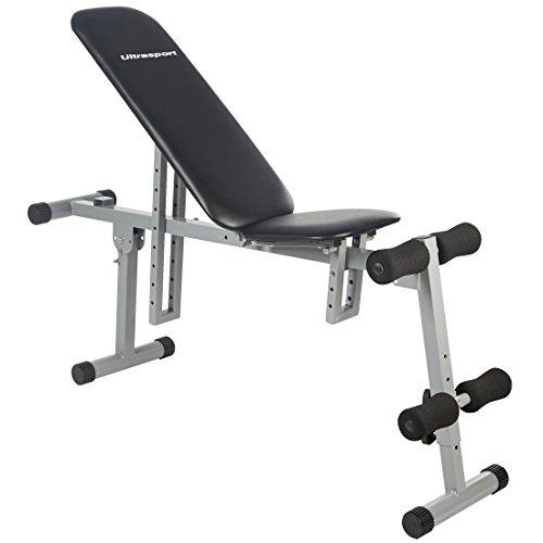 ウルトラスポーツ オールインワントレーニングベンチ 調節可能 最高許容体重:100kg