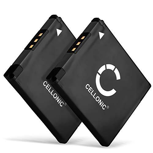 CELLONIC 2X Batería Compatible con Canon PowerShot SX430 IS SX420 SX410 SX400 SX432 A2500 A2300 IXUS 285 HS 275 190 180 185 175 170 160 155 145 132 130, Elph 110 600mAh NB-11L NB-11LH Pila Repuesto