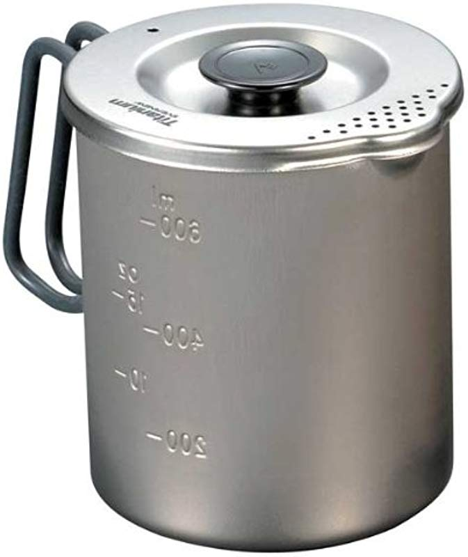 EVERNEW Titanium Pasta Pot Small