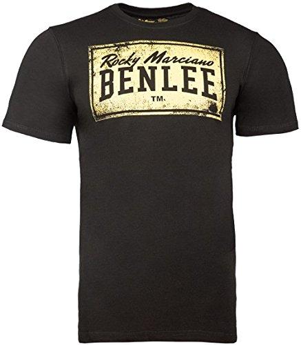 Ben Lee Boxlabel, Shirt Uomo, Nero, L (UK M)