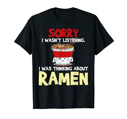 Ramen Japanese Noodles Funny Gift T-Shirt