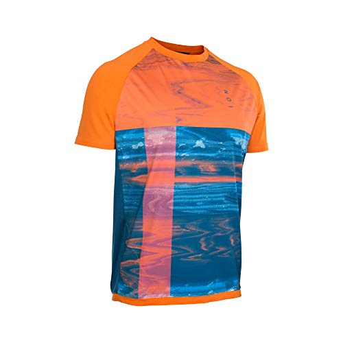 Ion Traze Amp Fahrrad Trikot kurz orange/blau 2021: Größe: M (50)