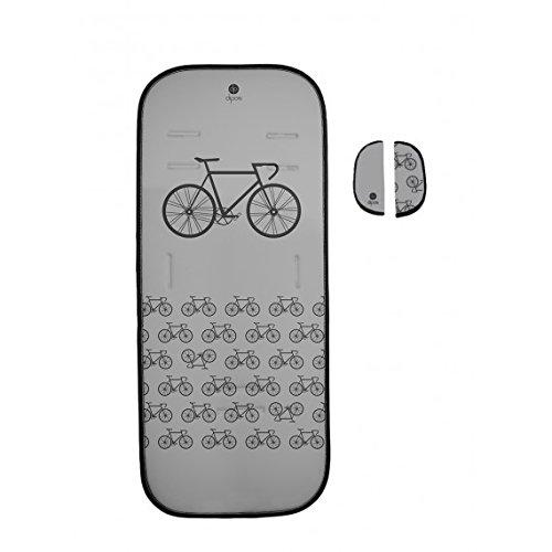 Dipos colchoneta silla de paseo ligera universal para carrito cochecito bebe transpirable de microfibra modelo + protección de arneses (Dipos)