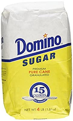 Domino Premium Pure Cane Granulated Sugar, 64 Ounce (Pack of 3)
