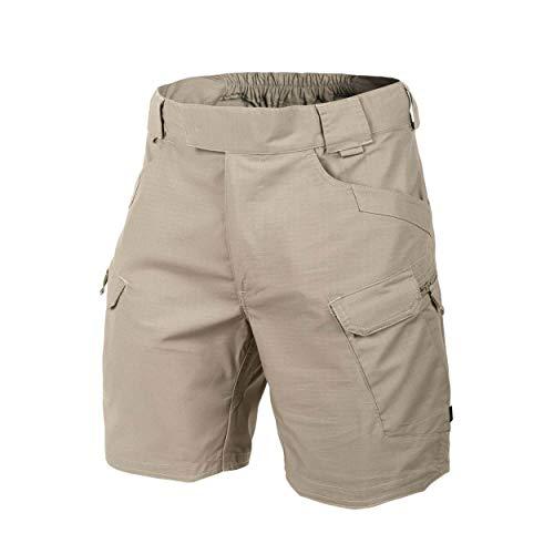 Helikon Hombres Táctico Urbano Pantalones Cortos 8.5' Caqui tamaño M