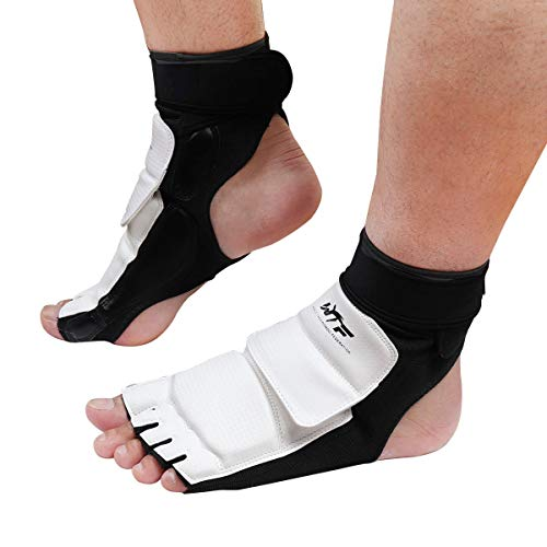 Goetland Taekwondo Foot Protector Gear Martial Arts Fight Boxing Punch Bag Sparring Training XS