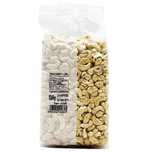 Oltresole - Anacardio Crudo Naturale1 Kg, senza sale, al naturale