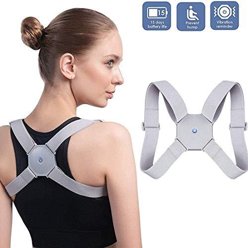 LSBQQ Posture Corrector for Women/Men/Children Back Straightener for Posture Correction Back Support Back Trainer Shoulder Strap Posture Trainer Ideal for Correcting Back and Shoulder