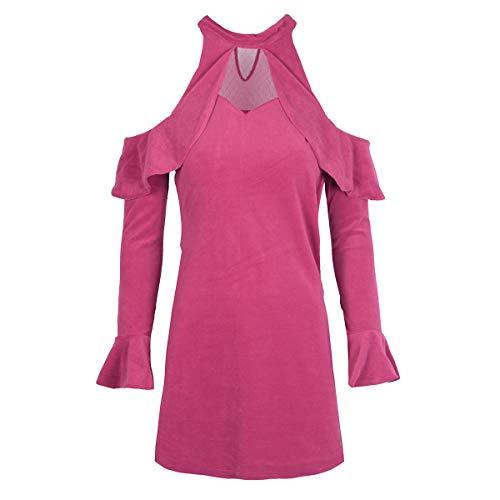 Guess Nerissa Vestido, Multicolor Raspberry Radiance, XS para Mujer