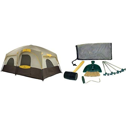 Browning Camping Big Horn Family/Hunting Tent and Coleman Tent Kit Bundle