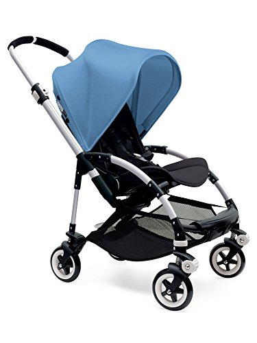 Lowest Prices! Bugaboo Bee3 Stroller - Ice Blue/Black/Aluminum (Stroller not included)