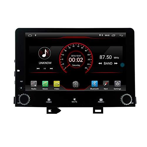 Autosion Android 10 Reproductor de DVD GPS estéreo para coche Radio Navi Multimedia Wifi para Kia Rio Stonic 2017 2018 2019 Control del volante