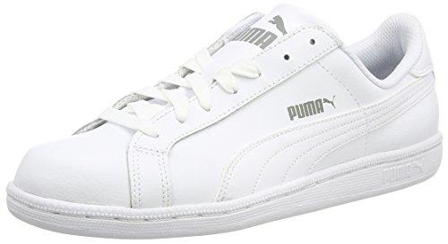 Puma Puma Smash L, Unisex-Erwachsene Sneakers, Weiß (white 02), 42 EU (8 Erwachsene UK)