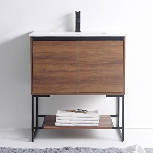 Fine Fixtures - Bathroom Vanity and Sink, Knob Free Design - Urbania Collection
