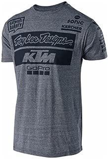 KTM TLD TEAM T-SHIRT GREY (M) UPW1857403