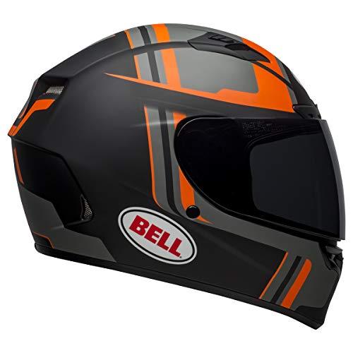 Bell Qualifier DLX MIPS Full-Face Motorcycle Helmet (Torque Matte Black/Orange, Medium)