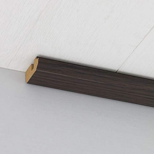 Paneel-Abschlussleiste Abdeckleiste mit Schattenfuge aus MDF in Bilbao 2600 x 35 x 17 mm
