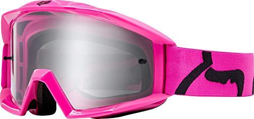 Fox Gogle Main Race Pink - glass Clear
