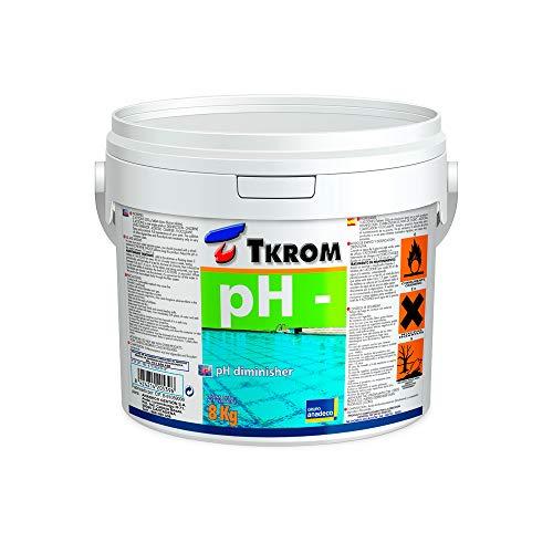 TKROM Regulador de PH- para Piscinas 8Kg