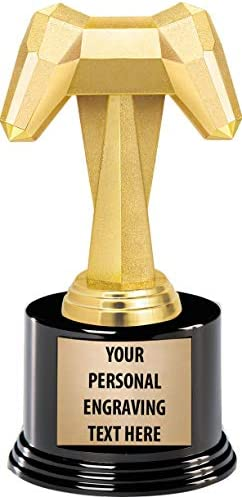 Video Game Trophy 7 Video Gaming Trophy Award with Custom Engraving 1 Pack Prime product image