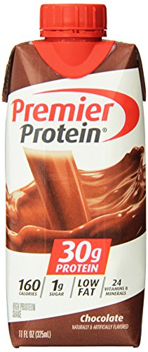 Premier Nutrition High Protein Shake, Chocolate, 12Count