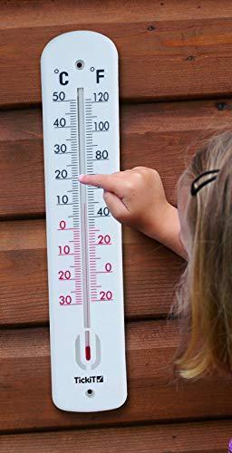 TickiT 90093 Innen- und Außenthermometer