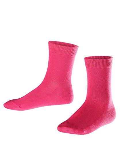 FALKE Kinder Socken Family - 94% Baumwolle, 1 Paar, Rosa (Gloss 8550), Größe: 39-42